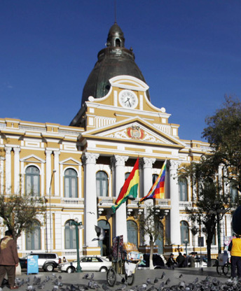 20140627014041146.玻利維亞首都議會大廈時鐘