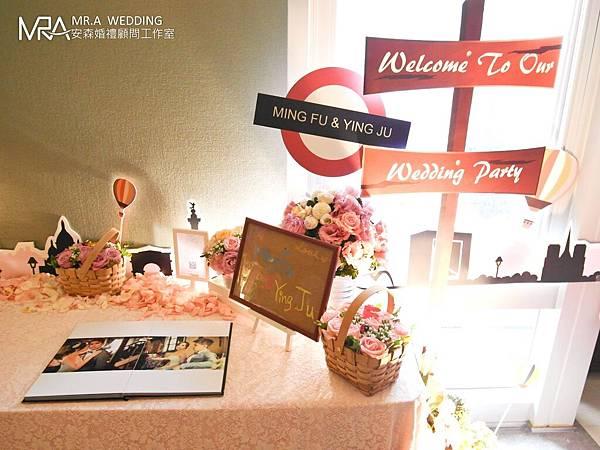 客製化婚禮佈置─浪漫與鄉村的甜蜜邂逅
