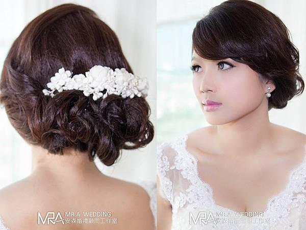 新秘造型-韓式新娘髮型