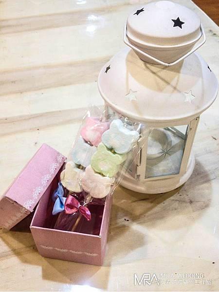 婚禮小物 ─ 小熊棉花糖