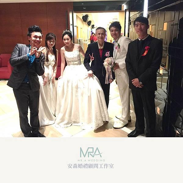 2015-09-26 昶瀚&紫玲 結婚喜宴 - 土城 海霸王餐廳