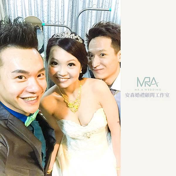 2015-10-10 東諺&維珍 結婚喜宴 ─ 板橋 上海銀鳳樓