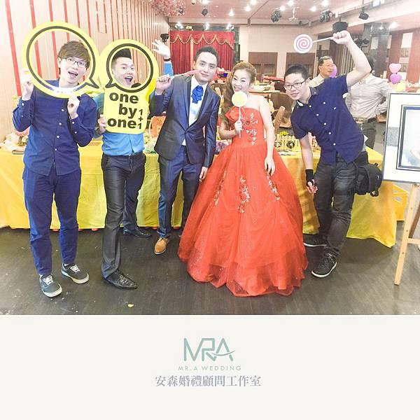 2015-10-03 威安&錫美 結婚喜宴 - 鶯歌 上豪味喜宴餐廳