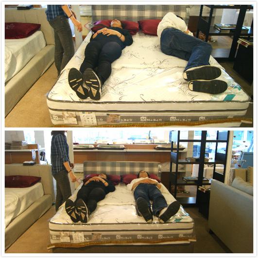 倍得先生床墊試躺服務