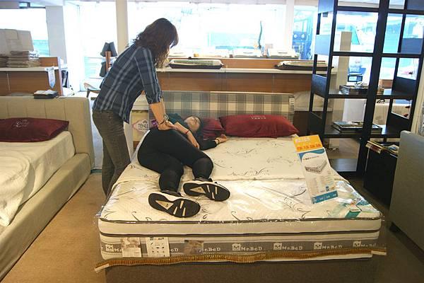 透氣乳膠床墊2