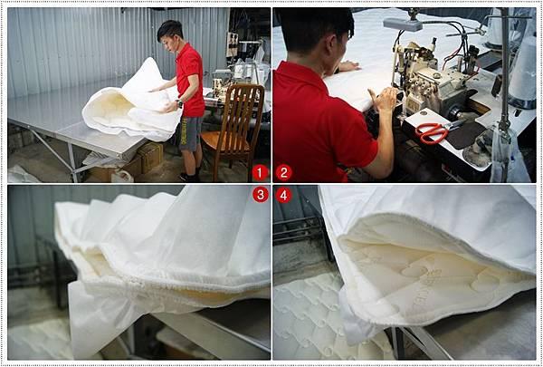 床墊製造過程10