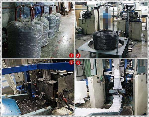 獨立筒床墊製造過程2