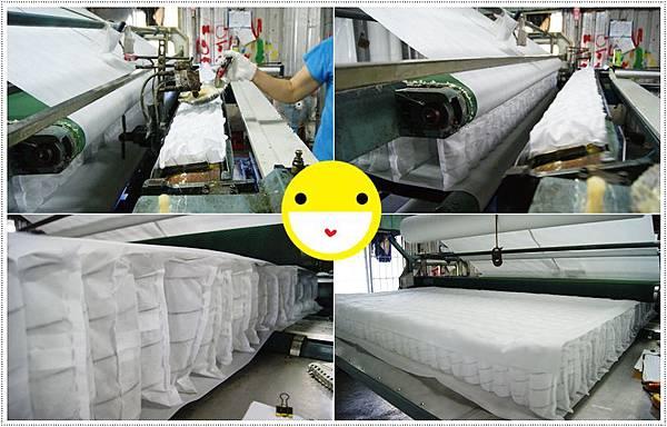 獨立筒床墊製造過程3