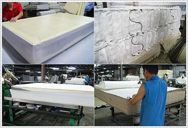 獨立筒床墊製造過程5