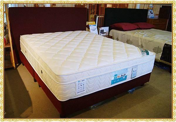乳膠防過敏獨立筒床墊1