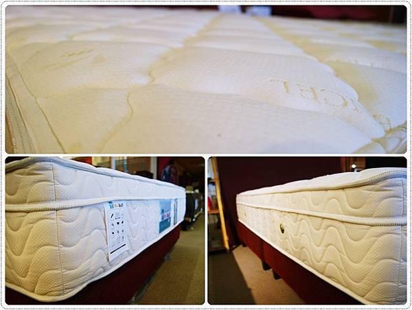 乳膠防過敏獨立筒床墊3