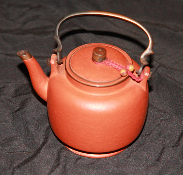 紅梨皮茶壺