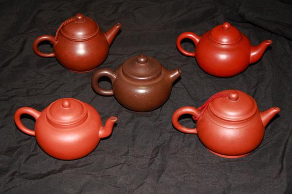 五兄弟茶壺
