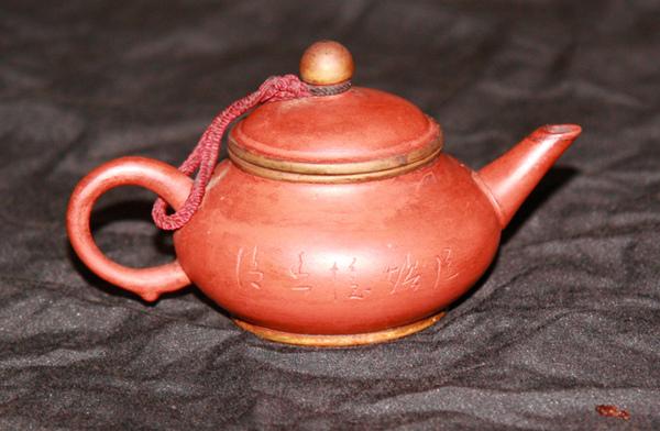 鑲金邊 壺蓋 壺座 茶壺