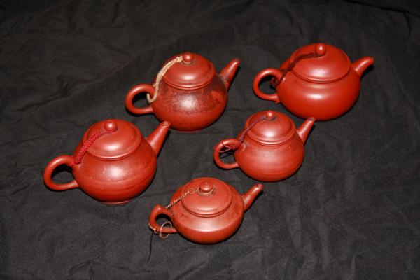 大小五茶壺