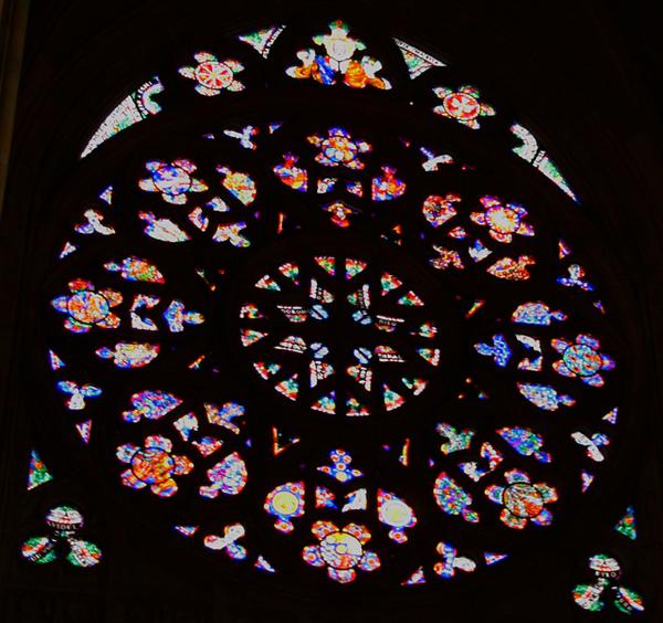 布拉格聖維特大教堂玫瑰窗03
