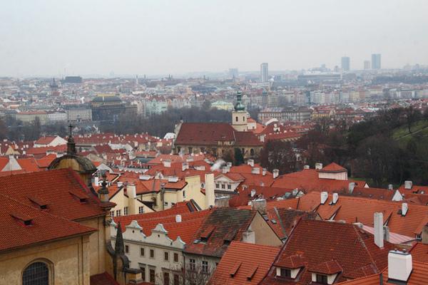 城堡山俯瞰布拉格02