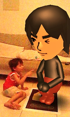 3DS等身大Mii AR卡-悄悄話-01.JPG