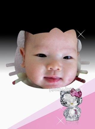 Swarovski施華洛世奇 小BABY Thor 水晶kitty-01.jpg