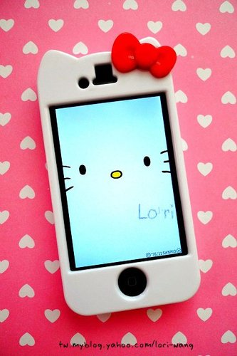 Hello Kitty iPhone 4 3D殼-01.jpg
