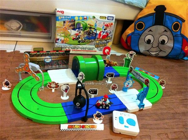Todd的生日禮物:mini Q ~wii版瑪利歐 遙控賽車組-02.jpg