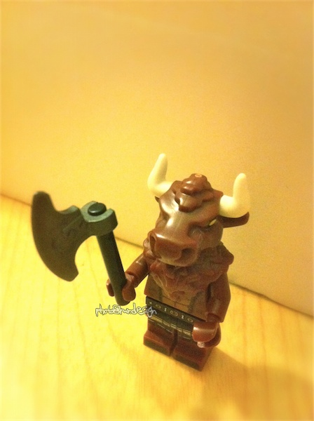 牛魔王『LEGO minifigures』