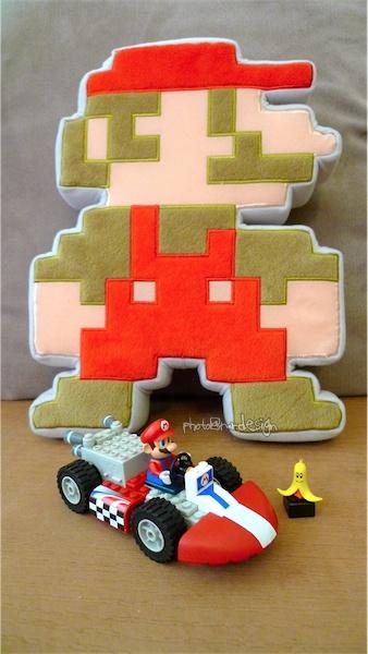 Todd在兒童節買的禮物~樂高LEGO馬力歐賽車MARIO KART Wii   -01