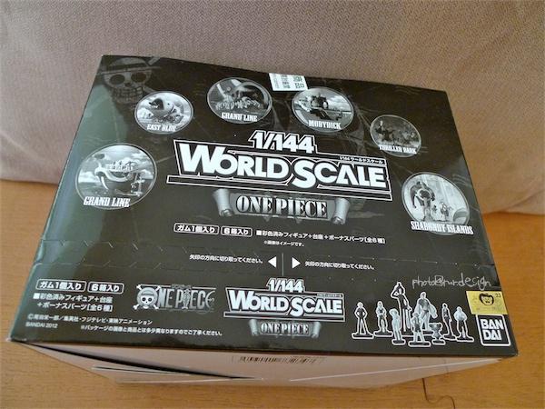 1:144 WORLD SCALE ONE PIECE[金色小熊 日版 海賊王盒玩]-01