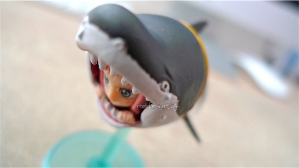 一抽就中~海賊王盒玩 隱藏版 兩年後魚人島 人魚公主白星+鯊魚-01