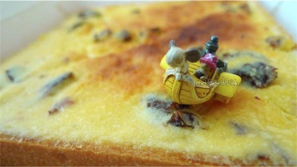 葡萄奶酥厚片^早餐ing...~喬巴&小梅莉號的葡萄奶酥土司海冒險-02