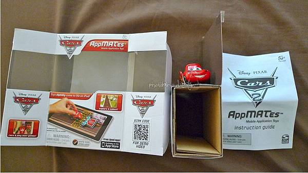 Todd朝思暮想的ipad用cars麥坤~Disney AppMATes-05