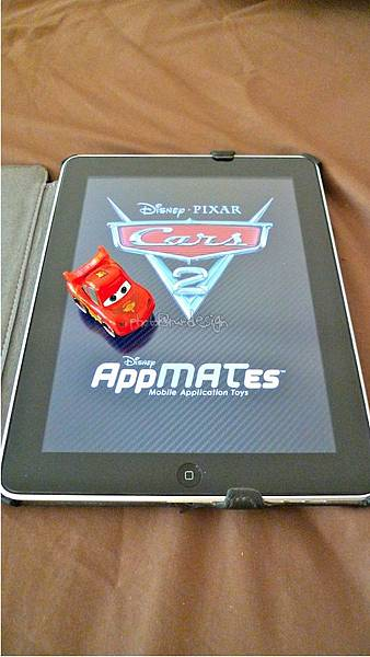 Todd朝思暮想的ipad用cars麥坤~Disney AppMATes-08