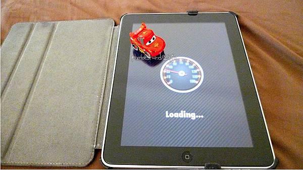 Todd朝思暮想的ipad用cars麥坤~Disney AppMATes-09