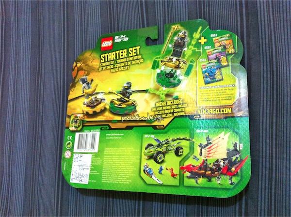 Todd目前的最愛~LEGO NINJAGA系列 STARTER SET-02
