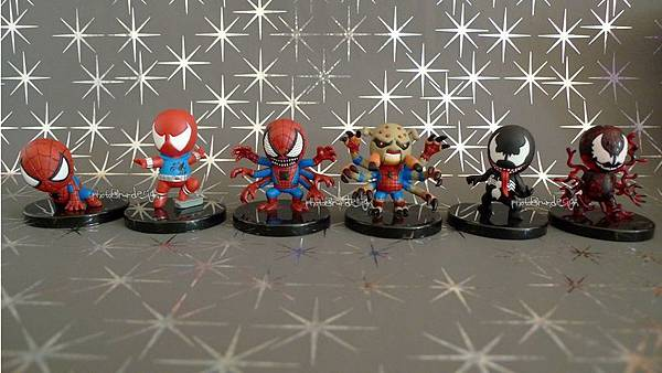 蜘蛛人 SPIDER-MAN FIGURE COLLECTION TIME CAPSULE ART CAPSULE TOY PROJECT-01