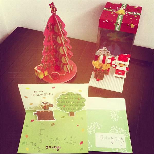 Todd送給聖誕老公公的禮物01
