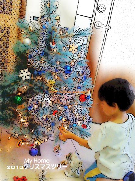 2010年聖誕樹點燈01