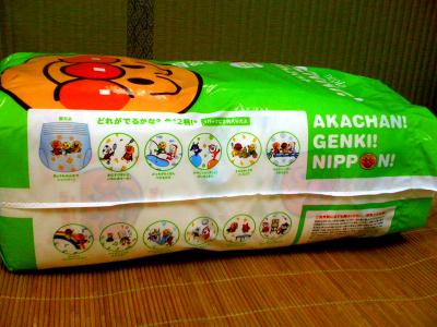 麵包超人尿布溼紙巾05