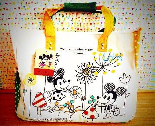 Shinzi Katoh 加藤真治 迪士尼限定款 Mickey & Minnie 媽媽包.jpg