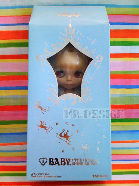 BABY,THE STARS SHINE BRIGHTとCWCのコラボレーションドールです!01