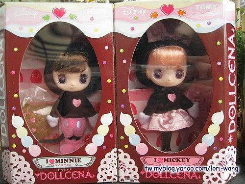 Dollcena朵莎娜.情人節限定版的MICKEY與MINNIE-01.jpg