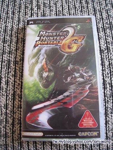 魔物獵人攜帶版 2nd G 限量版週邊配件組‧for PSP -06.jpg