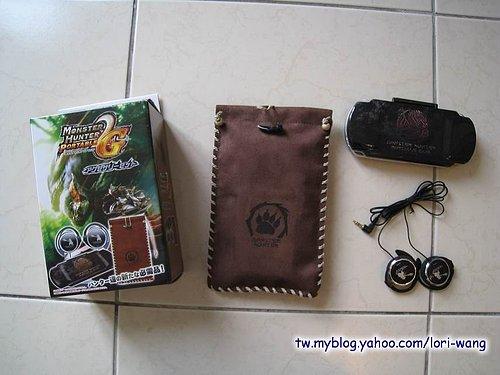 魔物獵人攜帶版 2nd G 限量版週邊配件組‧for PSP -02.jpg