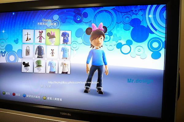 xbox虛擬人偶配件-迪士尼系列01