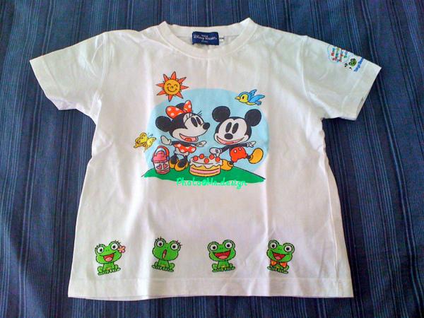 小baby 米奇mickey&米妮minnie 兒童服01-M40.jpg