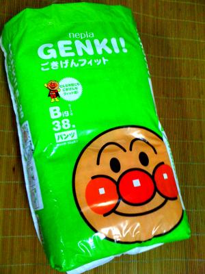 麵包超人尿布溼紙巾01