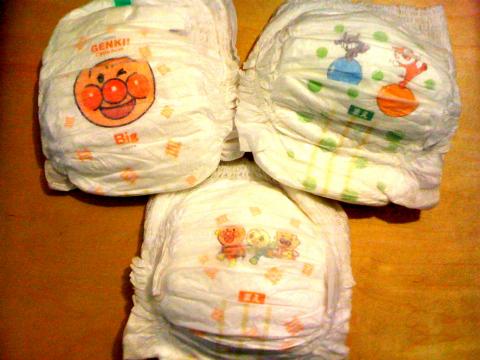 麵包超人尿布溼紙巾02