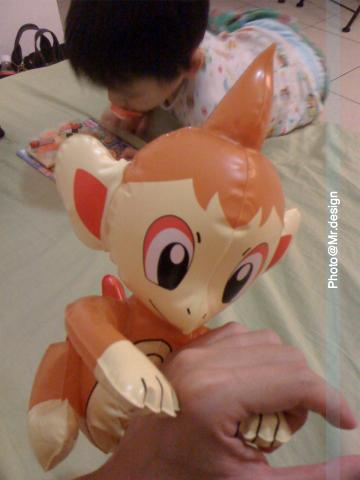 todd玩具~火焰猴01