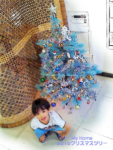 2010年聖誕樹點燈03