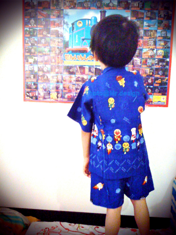 Todd的新衣服~アンパンマン 麵包超人 ANPANMAN 浴衣祭典服05-m30.jpg